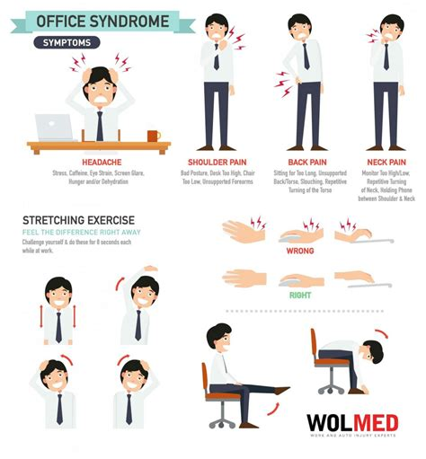 Neck Exercises At Your Desk by Office โรคร ายของคนทำงานออฟฟ ศ Natui Au