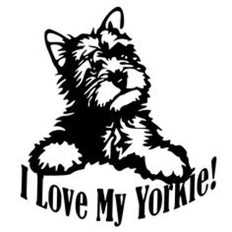 yorkie svg yorkie svg zentangle silhouette terrier clip cut file lover gifts