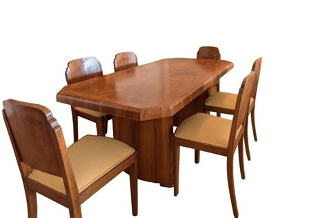 art deco dining room table art deco dining table walnut original antique furniture
