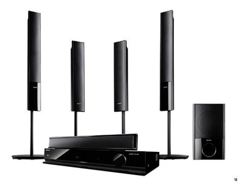 sony home theater sound systems unveiled ubergizmo