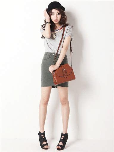 desain dress korea gaya fashion wanita korea style casual