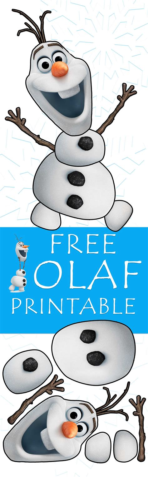printable disney olaf olaf printable template www pixshark com images