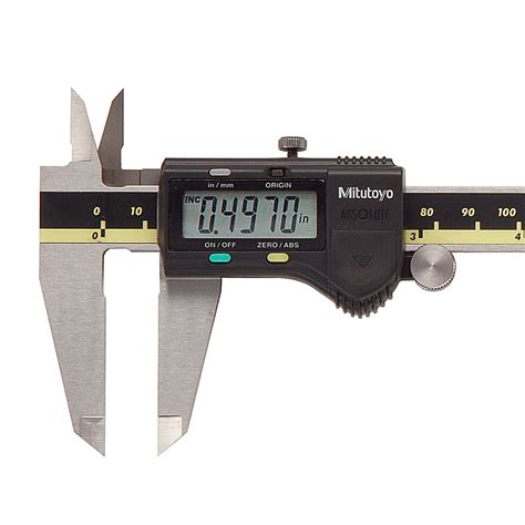 Digital Calipersigmat Digital Mitutoyo 8 500 197 30 8 the mitutoyo 500 197 30 absolute digimatic caliper has a measuring range of 0 8 quot with 0005