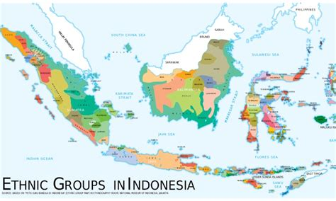 Bros Ethnic Aceh a cool map illustrating ethnic diversity in indonesia