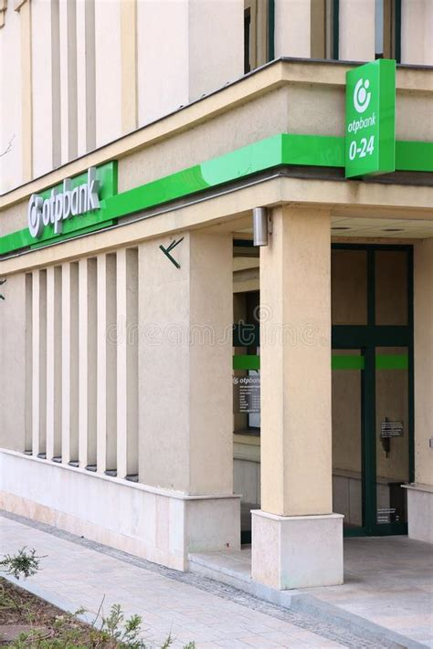 otp bank banking otp bank hungary editorial photo image of branch