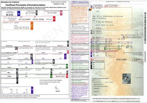 savoir lire et comprendre sa carte grise certificat d