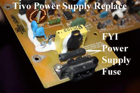 tivo capacitor kit tivo how to replace power suply