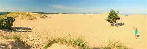 Silver Lake Sand Dunes Cabins by Cing At Mears State Park Pentwater Mi