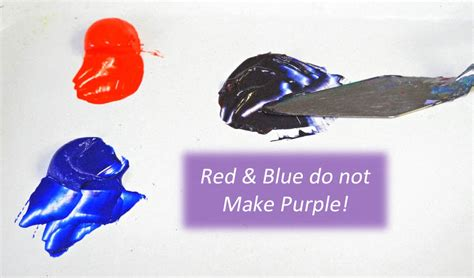 what color does and white make and blue don t make purple celebrating color