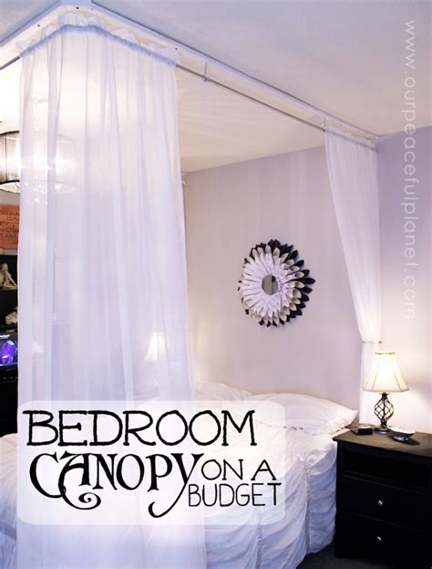 make a bed canopy 25 things to make with pvc pipe