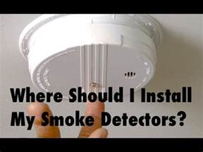 Where To Place A Smoke Detector In A Bedroom by Where Should I Put Smoke Detectors In House