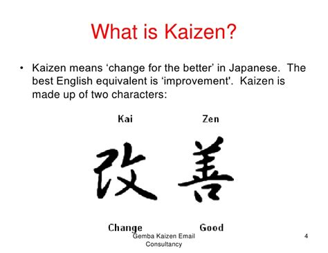 Mba Definition Francais by Gemba Kaizen