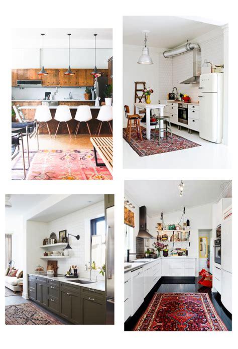 kitchen arrangement layout vintage kilim turkish rugs in the kitchen home decor glitter inc glitter inc