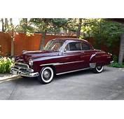 1951 CHEVROLET DELUXE 2 DOOR COUPE  154216