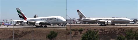 emirates vs etihad the uae brothers emirates airbus a380 800 and etihad