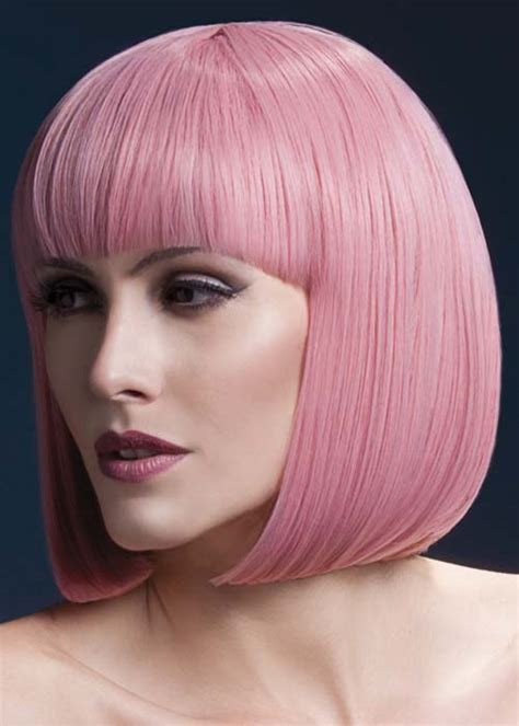 Termurah Wig Bob Pink Wig pink bob fever elise wig
