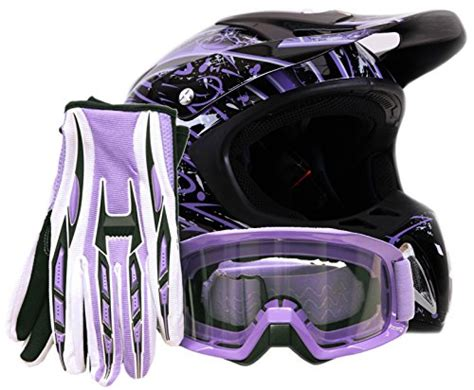 cheap motocross gear combos offroad helmet goggles gloves gear combo dot