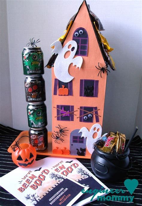 hometalk diy haunted house   shoe box