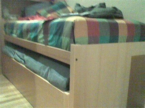 camas nido zaragoza cama nido en melamina muebles cansado zaragoza
