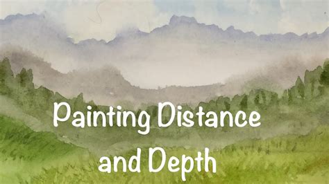 Painting Perspective Depth Distance In Watercolour painting distance and depth in your landscapes watercolor