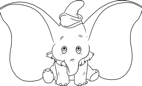 coloring pages dumbo elephant free printable elephant coloring pages for kids