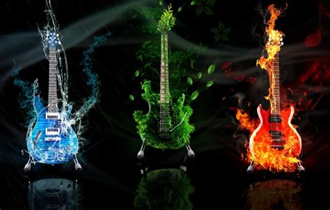 wallpaper guitar earth water element images for