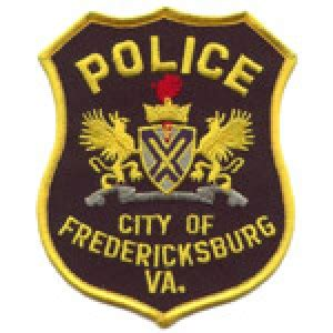 Fredericksburg Va Arrest Records Officer Ellsworth Fredericksburg Department Virginia