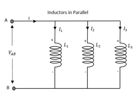 inductor parallel circuit basic electronics circuit connections in inductors