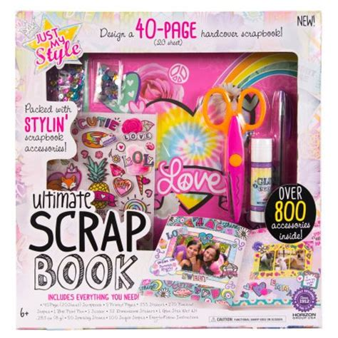 fashion design kits for 12 year olds just my style designer scrapbook kit by horizon group usa