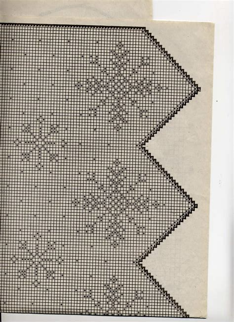 fiocchi per tende tendine filet con fiocchi di neve natale 4 magiedifilo