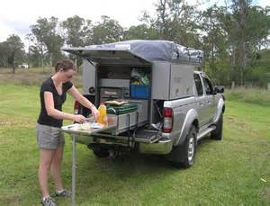 Rollout Awning Explorer Ute Back From Explorer Campers And Canvas