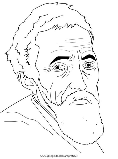 Michelangelo Coloring Pages Free Coloring Pages Of Works Of Michelangelo