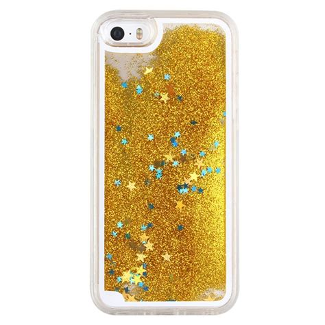Gliter For Iphone 6 Plus Color Yellow eseekgo glitter floating liquid for iphone 6 plus 6s plus cover back bling bling