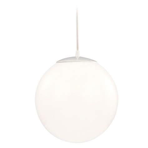 Modern Globe Mini Pendant Light With White Glass Jj 110 White Globe Pendant Light