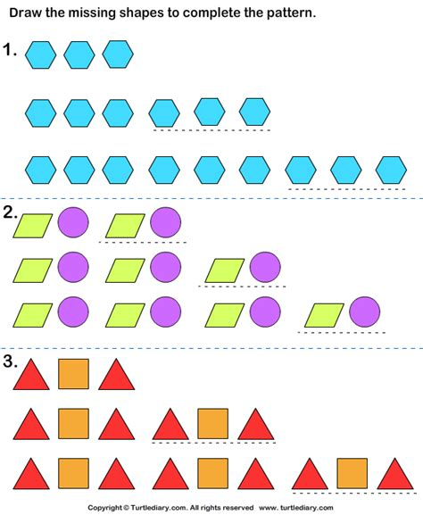 increasing pattern activities growing patterns worksheet year 1 growing patterns first