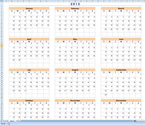 12 month calendar template excel 12 month calendar template 2017 printable calendar