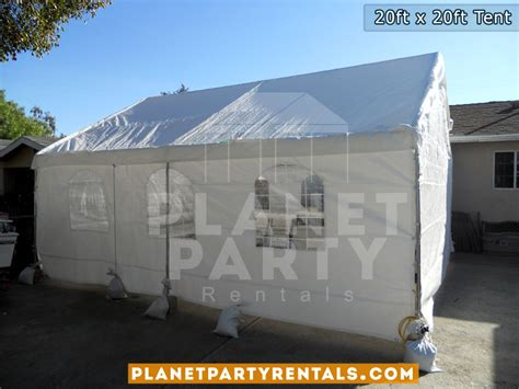 table and chair rentals san fernando valley 20ft x 20ft tent rental