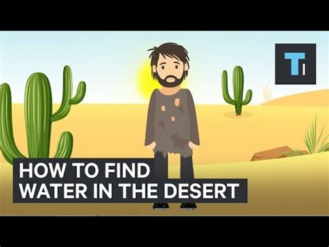 how to find water in the desert 15 minute news