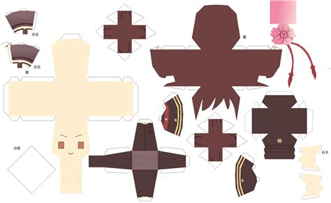 Hetalia Papercrafts - hetalia papercraft fem china by dj mewmew on deviantart