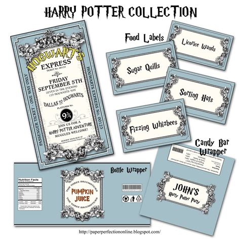 Harry Potter Printables