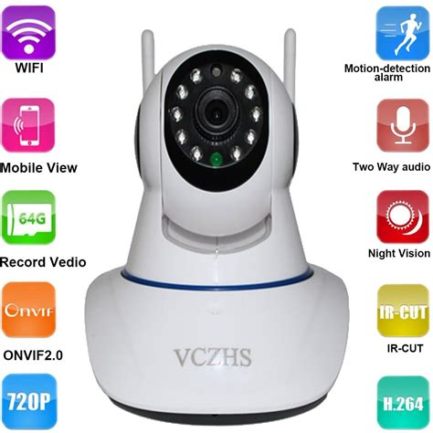 Hd 720p Wireless wireless wifi ip home security