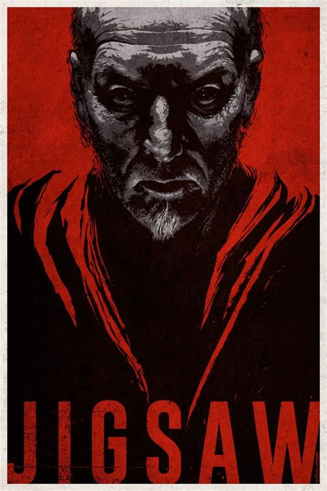 2017 movie jigsaw by matt passmore and tobin bell latest poster for jigsaw features a familiar face