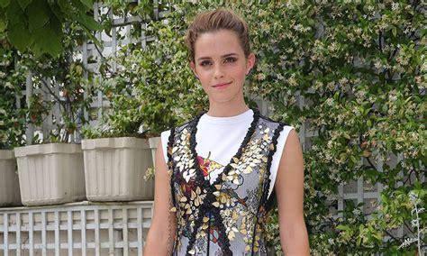 emma watson news emma watson dazzles in louis vuitton dress and t shirt