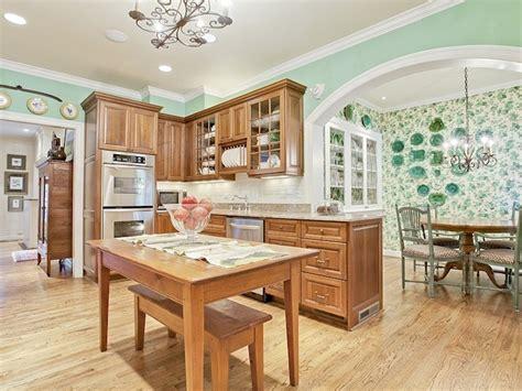 Seafoam Green Kitchen Cabinets Seafoam Green Walls Kitchens Pinterest Oak Cabinets Dallas And Countertops