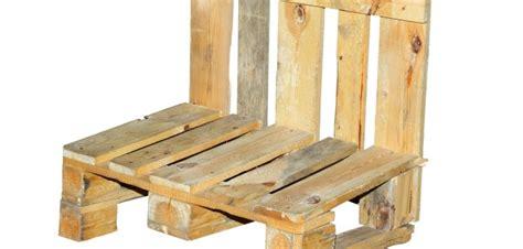 stuhl basteln bauanleitung stuhl aus europaletten selbst bauen