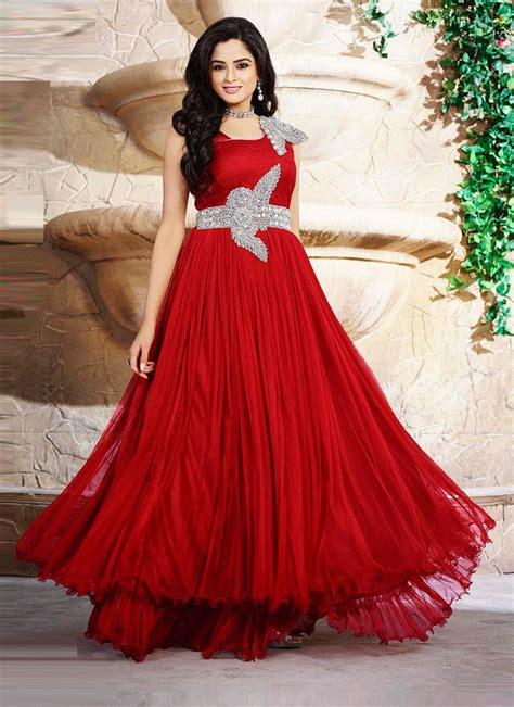 To Gown net fancy designer gown