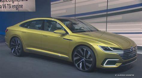 new volkswagen sports new vw sport coupe concept gte slots between passat and