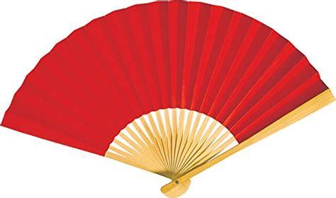 where to buy hand fans luna bazaar handheld folding paper fan 9 inch red in