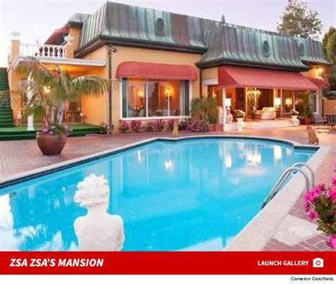 zsa zsa gabor house zsa zsa gabor s husband has to move out of their home