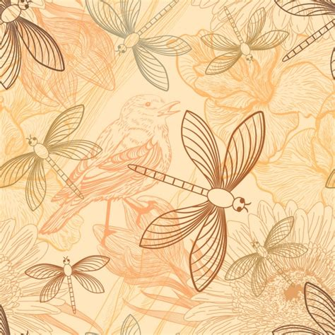 pattern design nature nature pattern design vector free download
